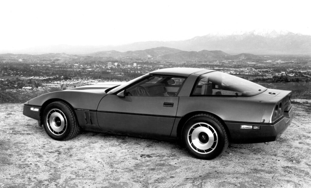". 1984 Corvette: The all-new fourth generation Corvette made its debut in April, 1983 and won the Motor Trend ""Car of the Year\"" award.  Daily News file photo"