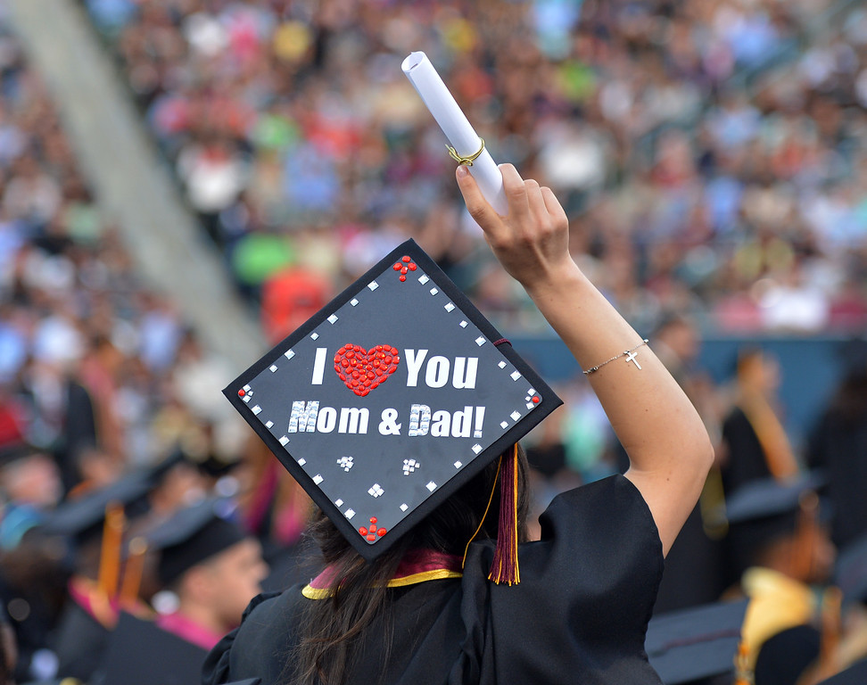 . Carson, CA - 2013 California State University Dominguez Hills Commencement ceremony. 5/17/13 (Robert Casillas  - Daily Breeze)