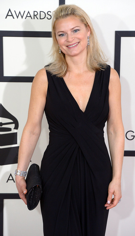 . Anna Einarsson arrives at the 56th Annual GRAMMY Awards at Staples Center in Los Angeles, California on Sunday January 26, 2014 (Photo by David Crane / Los Angeles Daily News)