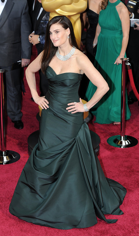 . Idina Menzel attends the 86th Academy Awards at the Dolby Theatre in Hollywood, California on Sunday March 2, 2014 (Photo by John McCoy / Los Angeles Daily News)