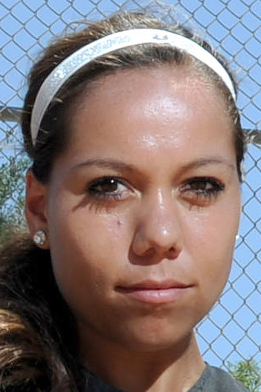 . Sahvanna Jaquish has been named to The Sun\'s All-Area softball team. Jaquish plays softball for Redlands East Valley High School. John Valenzuela staff photo The Sun.