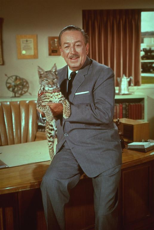 . 1966 Rose Parade grand marshal Walt Disney.  (AP Photo)