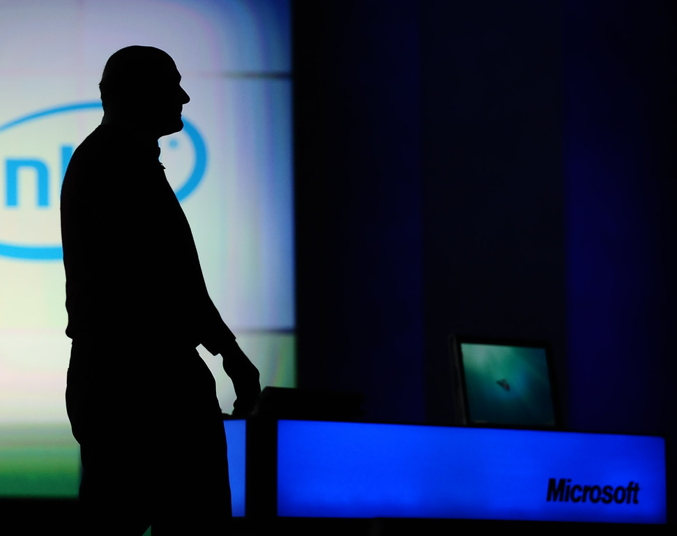 . Microsoft CEO Steve Ballmer plans to announce the official start of public beta testing for Windows 7 at the 2009 Consumer Electronics Show (CES) in Las Vegas Wednesday evening. Las Vegas NV, Jan 7,2009. Photo by Gene Blevins/LA Daily News