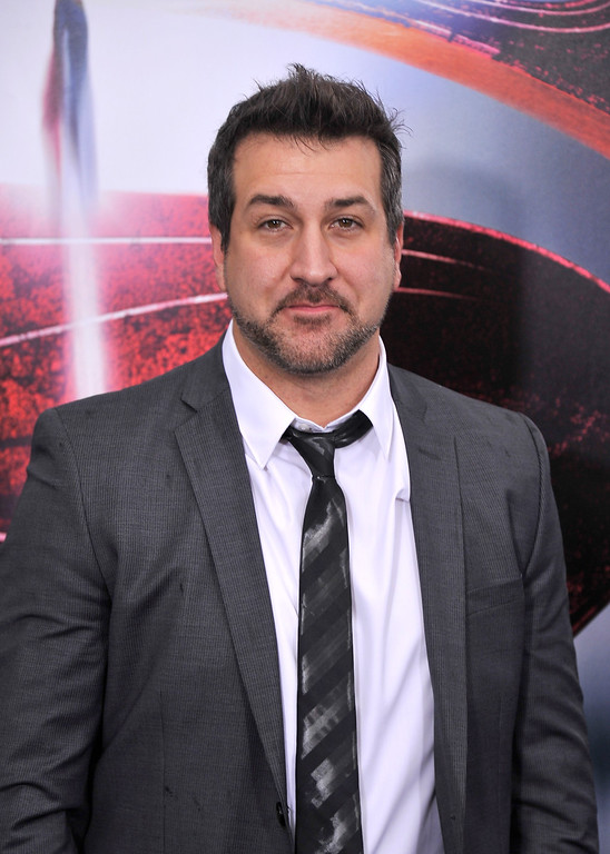". NEW YORK, NY - JUNE 10:  Singer Joey Fatone attends the ""Man Of Steel\"" world premiere at Alice Tully Hall at Lincoln Center on June 10, 2013 in New York City.  (Photo by Stephen Lovekin/Getty Images)"