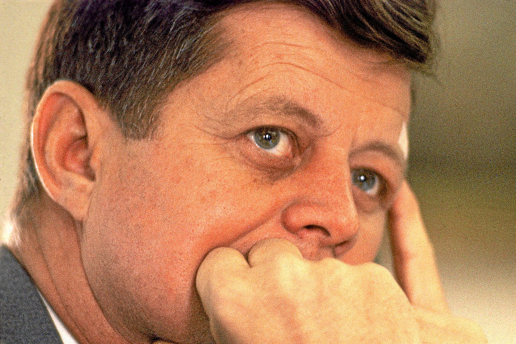 . In 2013, news organizations are looking back 50 years at the Nov. 22, 1963 assassination of President John F. Kennedy. (AP Photo/The History Channel, Paul Schutzer)