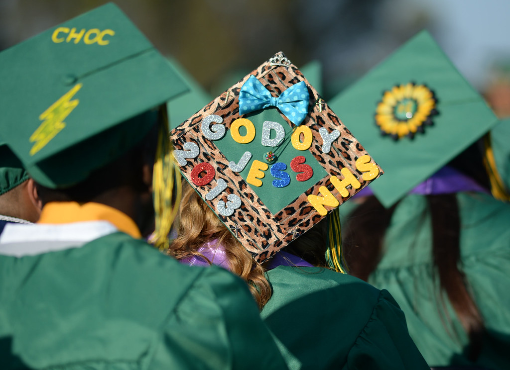 . Narbonne High School\'s 131st Commencement for the Class of 2013 Thursday.
