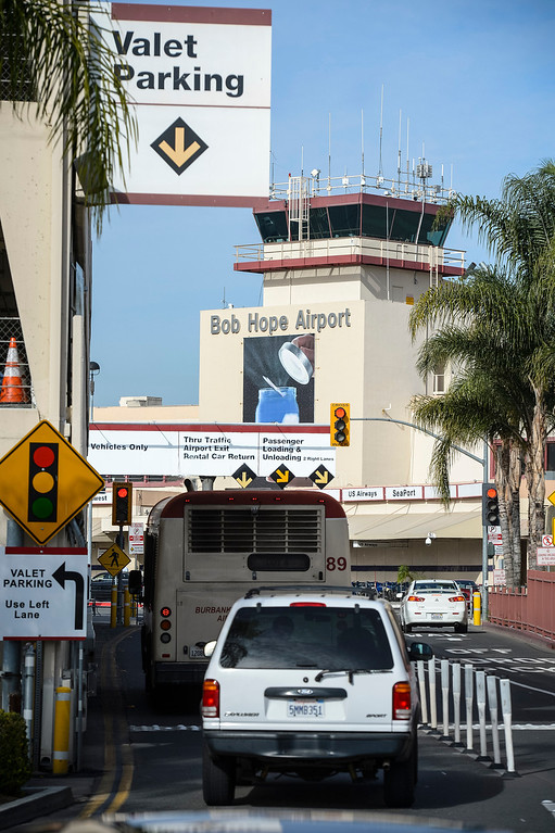 . The Bob Hope airport in Burbank, CA Tuesday, March 11, 2014.  (Photo by David Crane/Los Angeles Daily News)