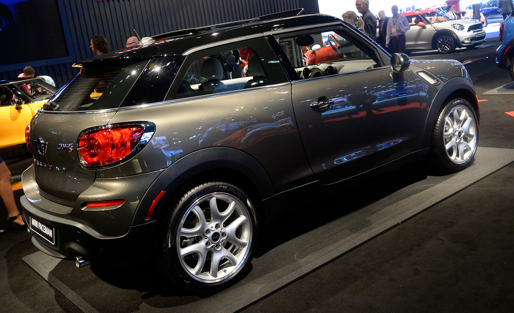 . Nov 22,2013 Los Angeles CA. The new 2014 Mini  Cooper S Paceman on display during the 2nd media day. The show opens to the public today Friday and runs through Dec 1st.  Photo by Gene Blevins/LA Daily News