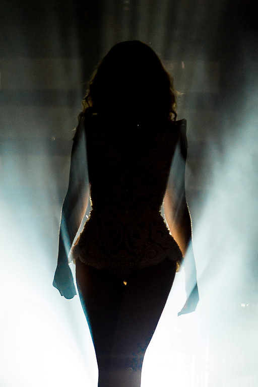 . Singer Beyonce performs on stage during a concert in the Rock in Rio Festival on September 13, 2013 in Rio de Janeiro, Brazil. (Photo by Buda Mendes/Getty Images)