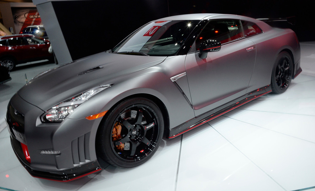 . Nov 22,2013 Los Angeles CA. The new 2014 Nissan GTR Nismo on displays during the 2nd media day at the Los Angeles Auto Show.The show opens today Friday and runs through Dec 1st. Photo by Gene Blevins/LA Daily News