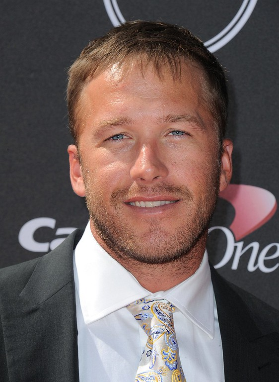. Skier Bode Miller arrives at the ESPY Awards on Wednesday, July 17, 2013, at Nokia Theater in Los Angeles. (Photo by Jordan Strauss/Invision/AP)