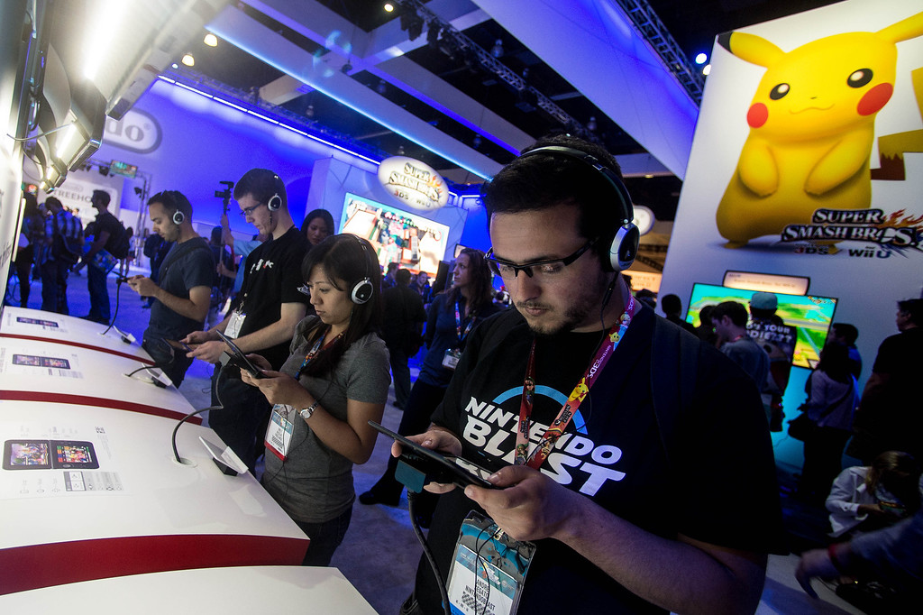 . Electronic Entertainment Expo in Los Angeles on Tuesday, June 10, 2014. (Photo by Watchara Phomicinda)