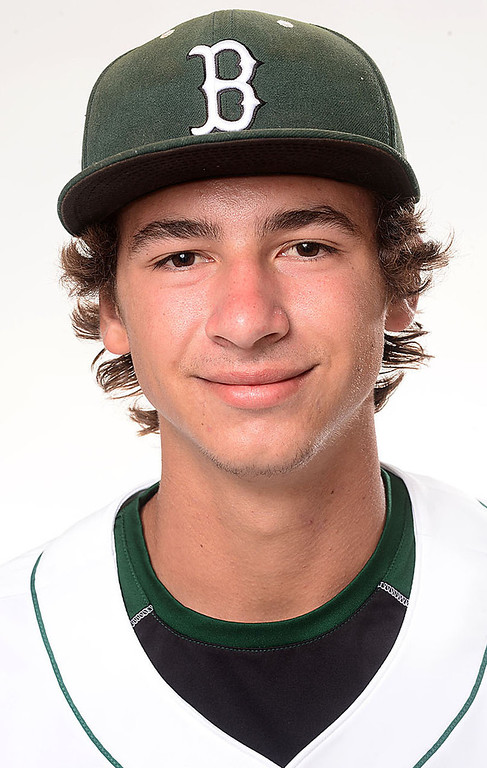 . Merritt Parker has been named to the Inland Valley Daily Bulletin\'s All Area baseball team. Parker is a senior at Bonita High School. Sarah Reingewirtz staff photo Inland Valley Daily Bulletin.
