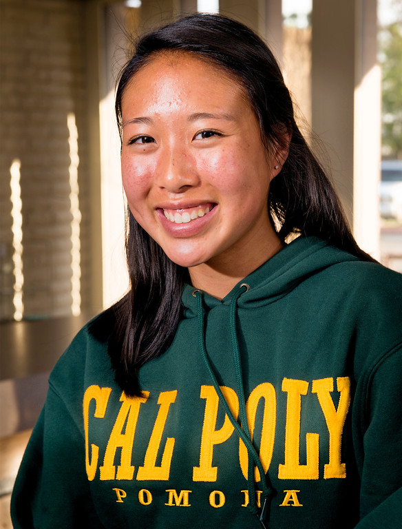 . Wilson High soccer player Allison Kung signed a National Letter of Intent to play for Cal Poly Pomona on National Signing Day Feb. 5, 2014.  (Staff photo by Leo Jarzomb/San Gabriel Valley Tribune)
