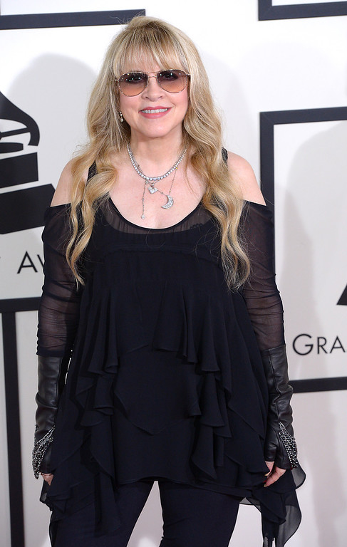 . Stevie Nicks arrives at the 56th Annual GRAMMY Awards at Staples Center in Los Angeles, California on Sunday January 26, 2014 (Photo by David Crane / Los Angeles Daily News)