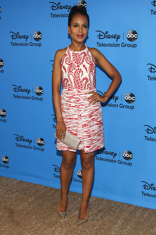""". BEVERLY HILLS, CA - AUGUST 04:  Actress Kerry Washington attends the Disney & ABC Television Group\'s \""""2013 Summer TCA Tour\"""" at The Beverly Hilton Hotel on August 4, 2013 in Beverly Hills, California.  (Photo by Paul A. Hebert/Getty Images)"""