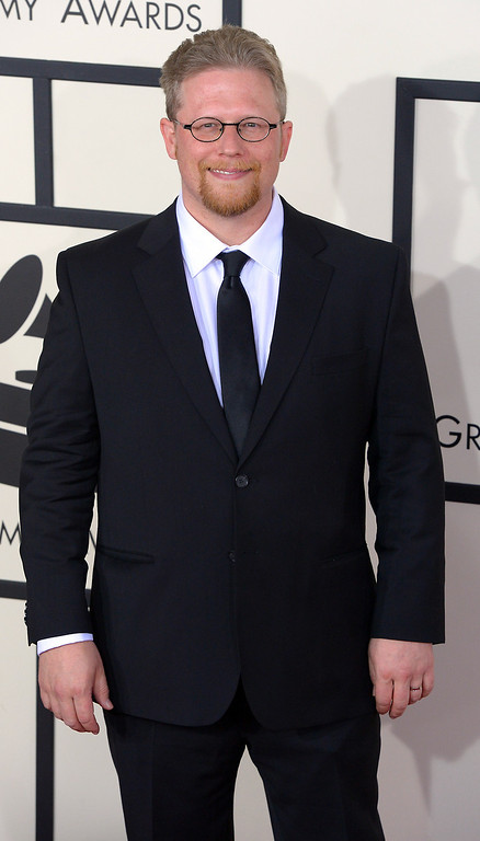 . Aron Kalley arrives at the 56th Annual GRAMMY Awards at Staples Center in Los Angeles, California on Sunday January 26, 2014 (Photo by David Crane / Los Angeles Daily News)