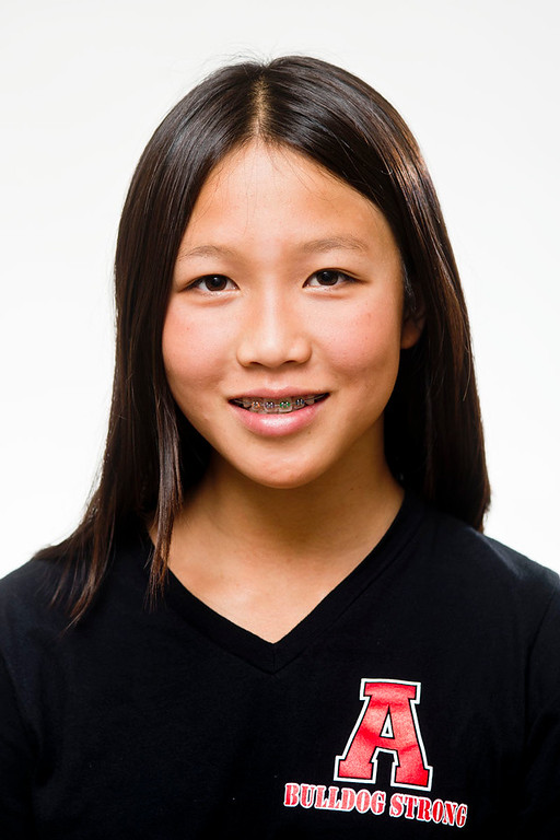 . Tribune all-area swimmer Kenisha Liu on May 22, 2013. (Staff photo by Watchara Phomicinda/ Los Angeles Media News Group)