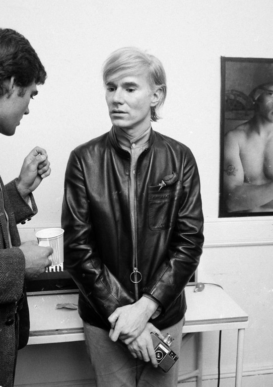 . Artist and underground filmmaker Andy Warhol is seen at his studio The Factory, Sept. 19, 1968.  (AP Photo/Marty Lederhandler)