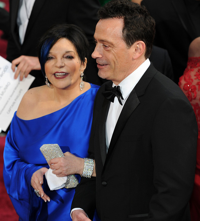 . Liza Minnelli and guests attends the 86th Academy Awards at the Dolby Theatre in Hollywood, California on Sunday March 2, 2014 (Photo by John McCoy / Los Angeles Daily News)
