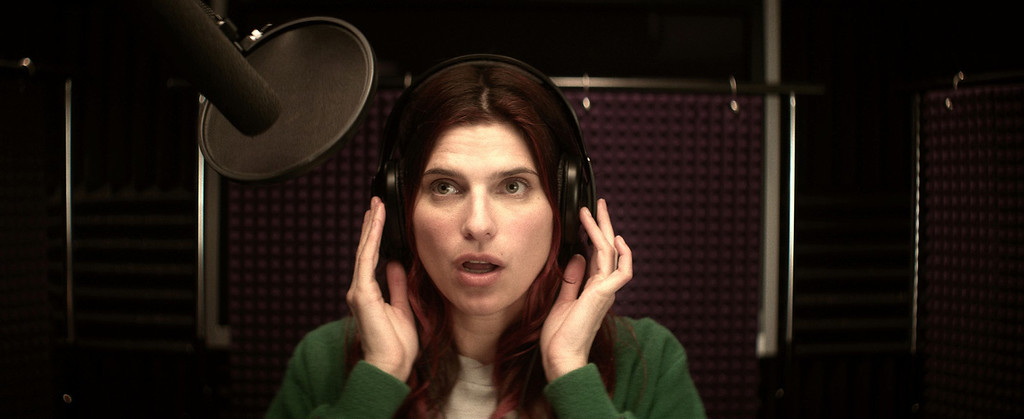 """. Lake Bell wrote, directed and stars as a third generation voice-over artist fighting sexism in the movie trailer biz in the Roadside Attractions film \""""In a World,\"""" out Aug. 9."""