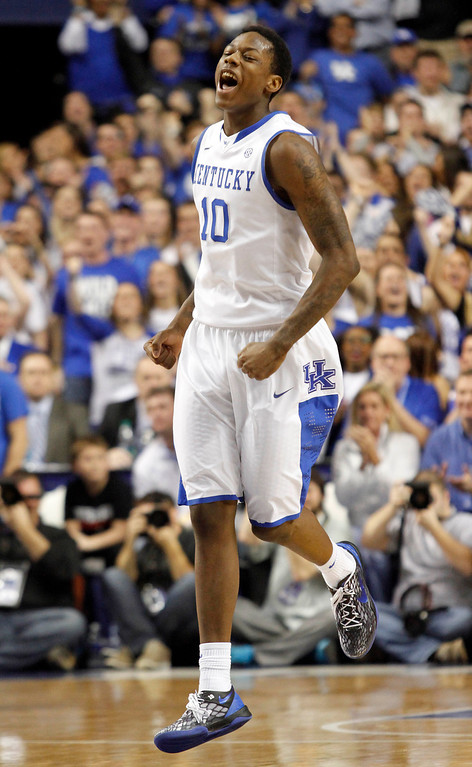 . <b>29. Oklahoma City - Archie Goodwin </b> <br />6-5, 189 Shooting guard, Kentucky (traded to Phoenix)  (AP Photo/James Crisp)