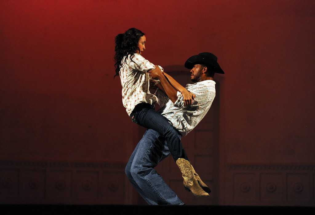 . Brockus: RED dance company performs on Tuesday, July 22, 2014 at the Redlands Bowl in Redlands, Ca. (Micah Escamilla/Redlands Daily Facts)