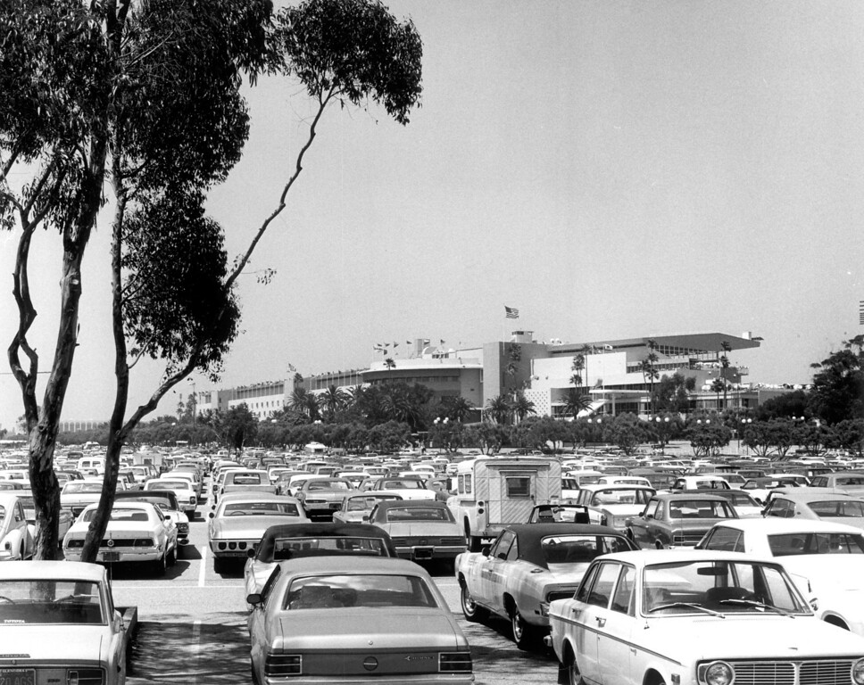 . Hollywood Park in the 80s.   (Los Angeles Daily News file photo)
