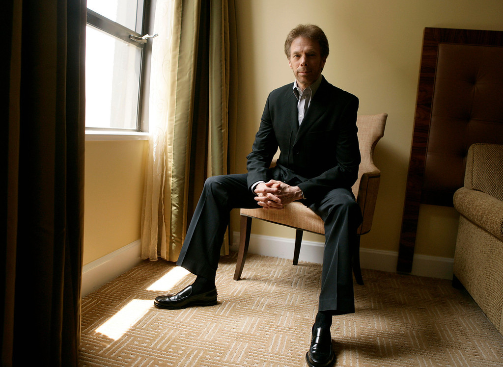 """. \""""Pirates of the Caribbean: At World\'s End\"""" producer Jerry Bruckheimer poses for a portrait in Beverly Hills, Calif. on Wednesday, May 16, 2007. (AP Photo/Matt Sayles)"""