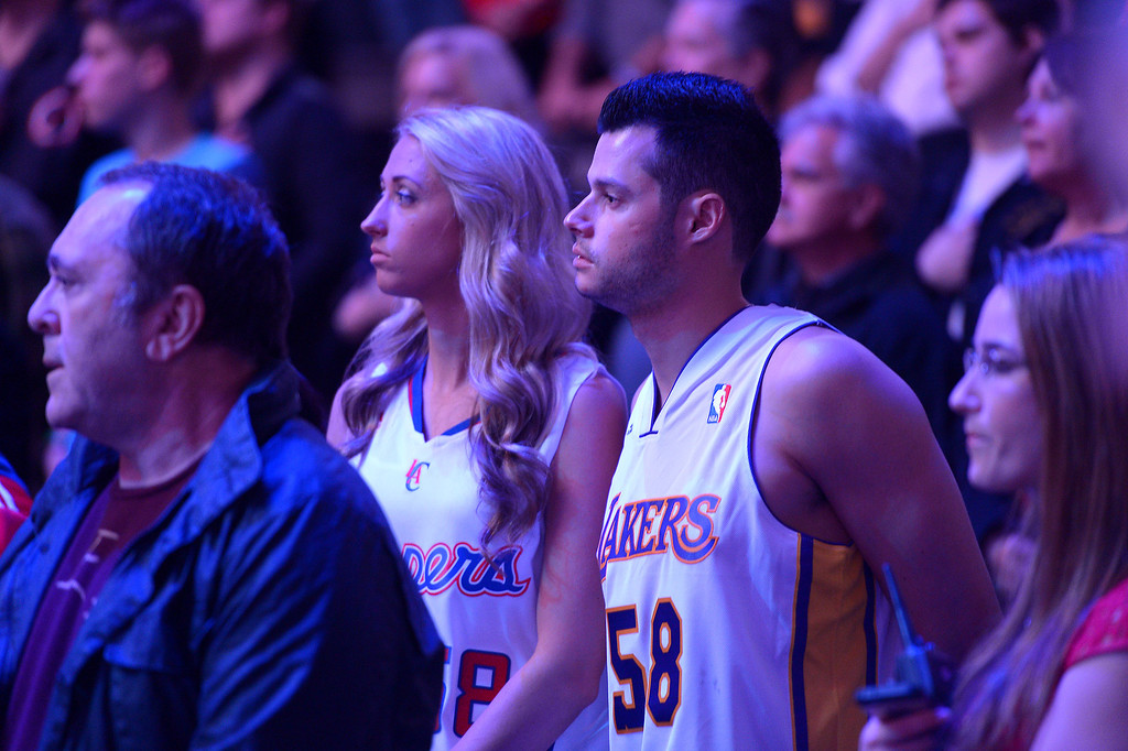 . It\'s Clippers vs Lakers, Friday, January 10, 2014, at Staples Center. (Photo by Michael Owen Baker/L.A. Daily News)
