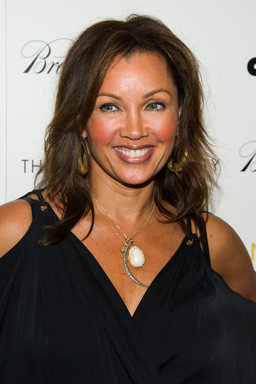 ". Vanessa Williams attends a screening of Lionsgate & Roadside Attractions\' ""Girl Most Likely\"" hosted by the Cinema Society & Brooks Brothers on Monday, July 15, 2013 in New York. (Photo by Charles Sykes/Invision/AP)"