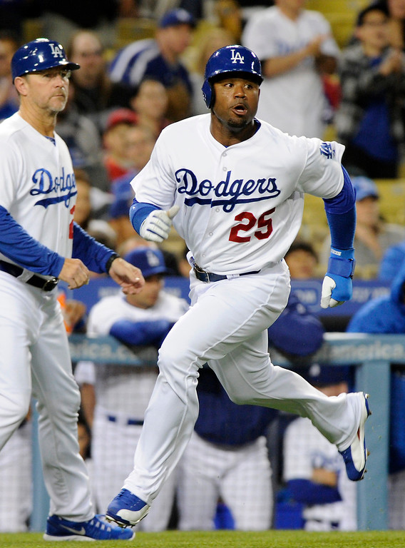 . <b>CARL CRAWFORD</b> <br />Less than two years after signing a seven-year, $142-million contract with the Boston Red Sox, Crawford was persona non grata in Boston. Sidelined after elbow surgery, Crawford was shipped west. He has produced a .350 on-base percentage and 11 steals in 15 attempts while giving the Dodgers a good presence atop the lineup.   (Michael Owen Baker/L.A. Daily News)
