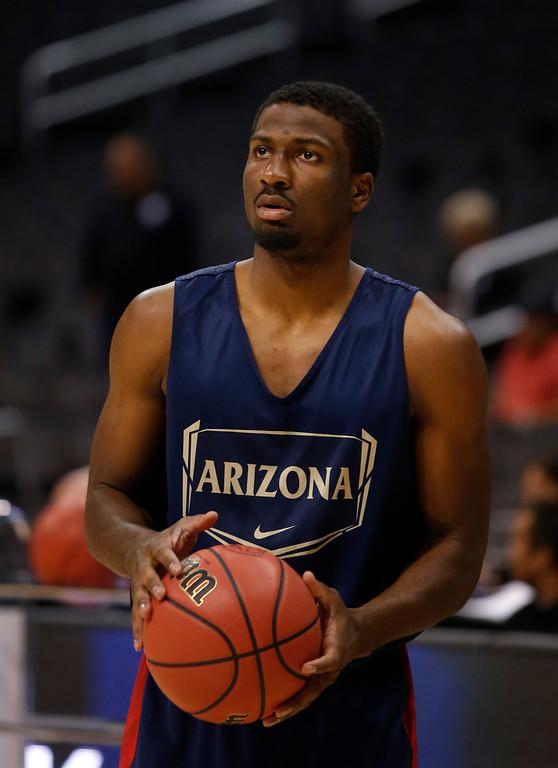 . <b>23. Indiana - Solomon Hill </b> <br />6-7, 226 Small forward, Arizona  (AP Photo/Jae C. Hong)