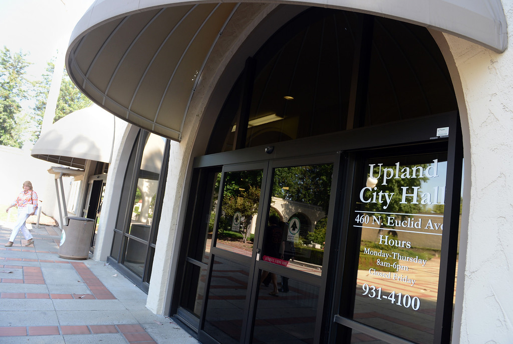 . Upland City Hall Monday, June 17, 2013, in Upland.  (Staff photo/Inland Valley Daily Bulletin)
