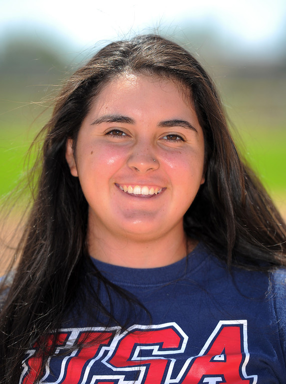 . North Torrance softball player Bryanna Ybarra is on the 2014 Daily Breeze Softball All-Area team. Photographed in Torrance, CA on Thursday, June 5, 2014. (Photo by Scott Varley, Daily Breeze)