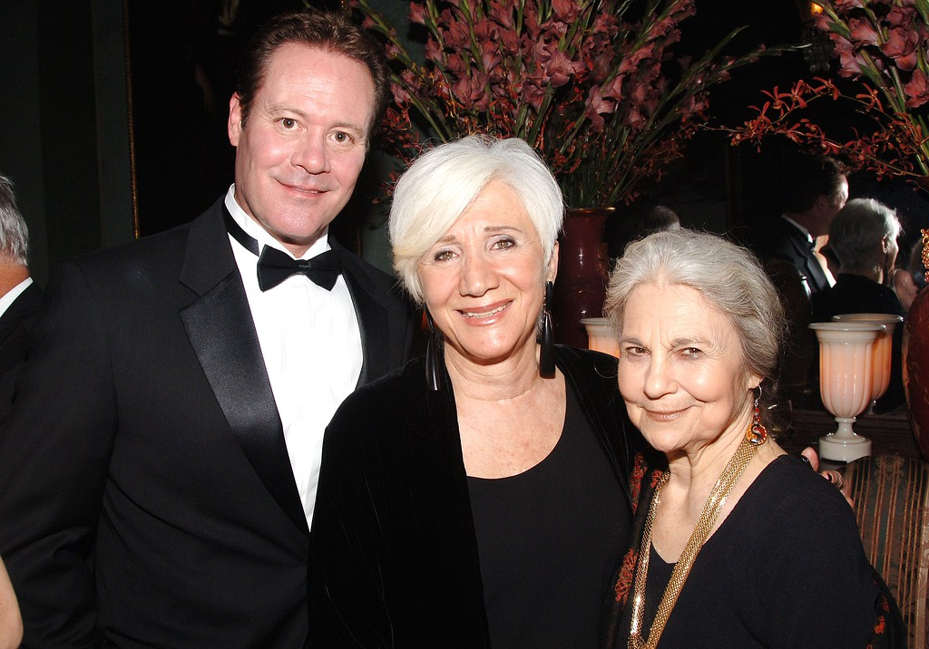 . NEW YORK - OCTOBER 11: (L-R) Chris Lemmon, Olympia Dukakis and Lynn Cohen attend The National Arts Club celebration honoring Olympia Dukakis on October 11, 2007 in New York City.  (Photo by Andrew H. Walker/Getty Images)
