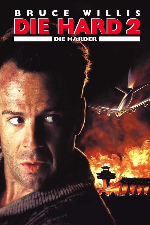 """. \""""Die Hard 2: Die Harder\"""" movie starring Bruce Willis as New York City Detective John McClane is released on 7/4/1990."""