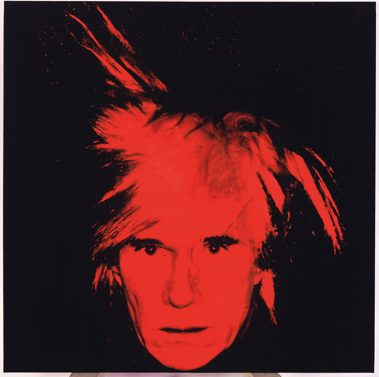 ". FILE- This file photo provided by Christie\'s Auction House shows Andy Warhol\'s 1986 ""Self Portrait,\"" which was among the last of his paintings to be exhibited while he was alive. The painting sold at auction by Christie�s in New York on Wednesday, May 11, 2011 for $27.5 million. (AP Photo/Christie\'s, File)"