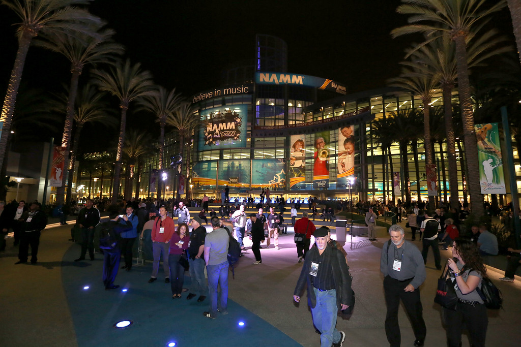 . ANAHEIM, CA - JANUARY 23:  A general view of atmosphere the 2014 National Association of Music Merchants show at the Anaheim Convention Center on January 23, 2014 in Anaheim, California.  (Photo by Jesse Grant/Getty Images for NAMM)