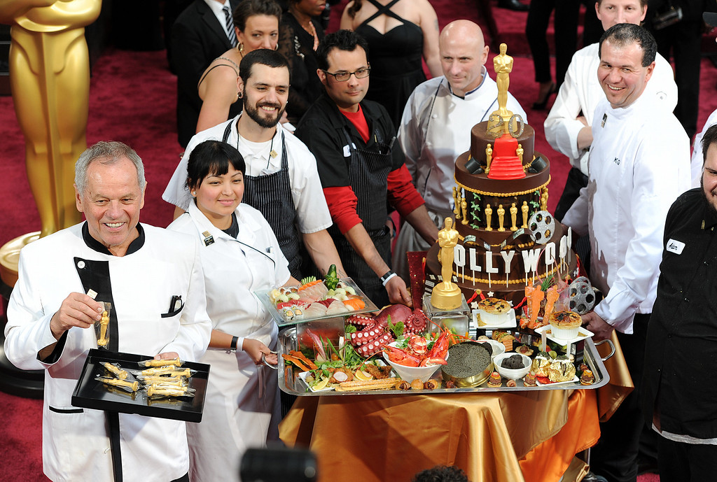 . Wolfgang Puck on the red carpet at the 86th Academy Awards at the Dolby Theatre in Hollywood, California on Sunday March 2, 2014 (Photo by John McCoy / Los Angeles Daily News)