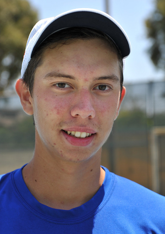 . Victor Brown of Alta Loma High School has been named Athlete of the Year to The Sun and Inland Valley Daily Bulletin\'s All-Area tennis team. Brittany Murray staff photo Inland Valley Daily Bulletin.