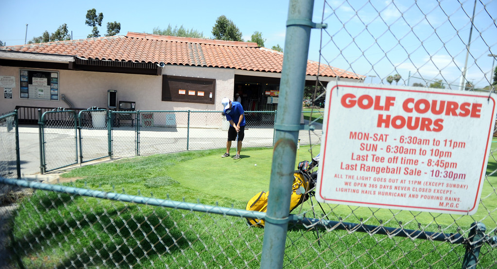 . The Monterey Park Golf course may soon be under new ownership, and that means patrons can expect $900,000 in upgrades within the first 12 months. that the contract is effective. The contract term is for 20 years with the possibility of two 10-year extensions. MP Monterey Park Golf, LLC will invest in at least $500,000 in capital improvements. The switch in ownership means an increase in at least $50,000 each fiscal year at the Monterey Park Golf Course on Tuesday, July 9, 2013 in Monterey Park, Calif.
