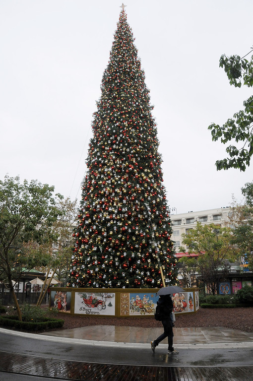 . The Christmas tree at the Americana at Brand. 11/29/2013 Glendale, CA.  (Photo by John McCoy/Los Angeles Daily News)