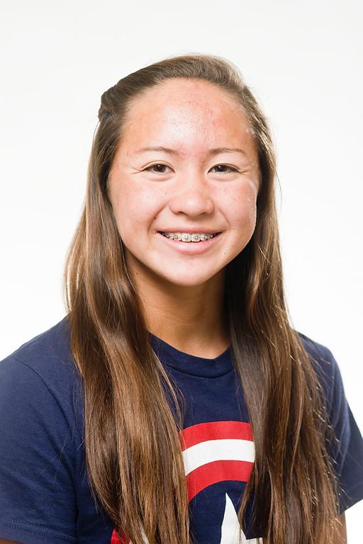 . Tribune all-area swimmer Catherine Sanchez, of Glendora, on May 22, 2013. (Staff photo by Watchara Phomicinda/ Los Angeles Media News Group)