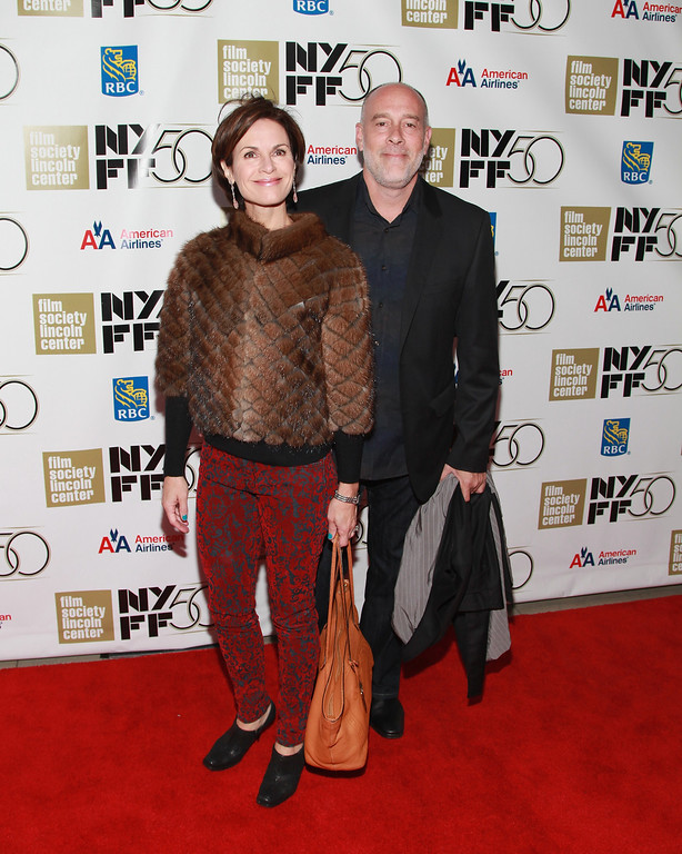 ". NEW YORK, NY - OCTOBER 13:  Elizabeth Vargas and Marc Cohn attend  the ""Hyde Park On Hudson\"" Premiere During The 50th New York Film Festival at Alice Tully Hall on October 13, 2012 in New York City.  (Photo by Taylor Hill/Getty Images)"