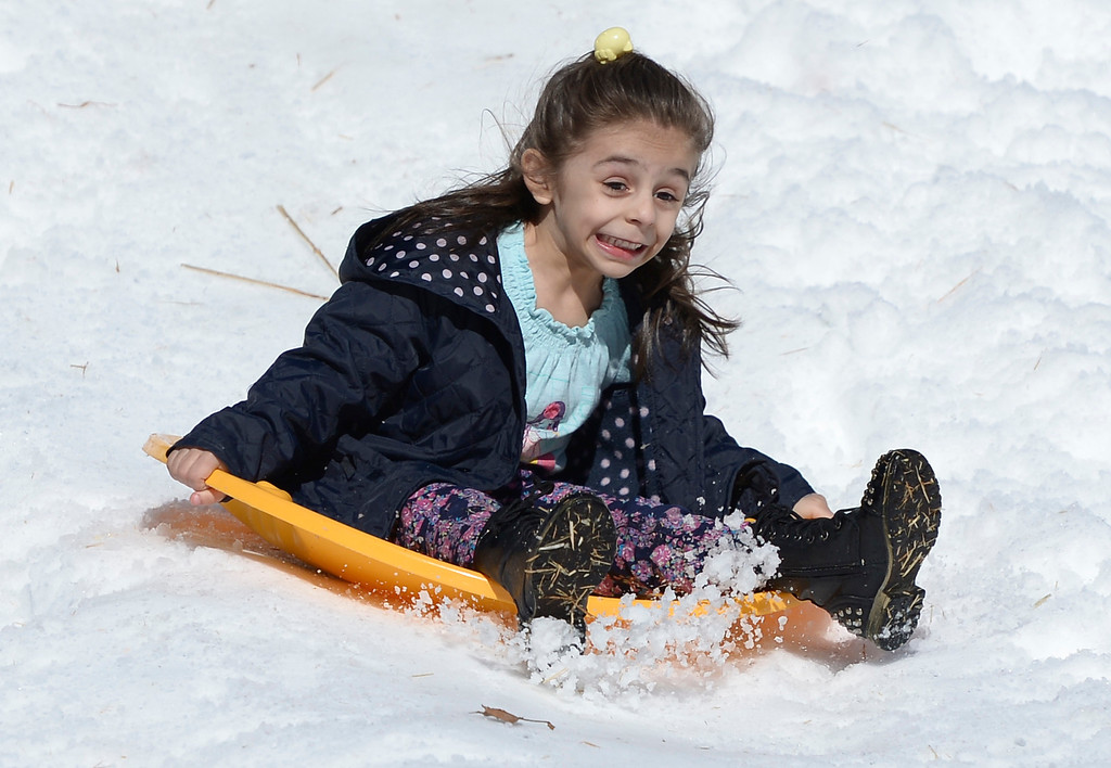 . The Armenian Relief Society is hosting a two-day Winter Wonderland event this weekend, with snow, entertainment, games and amusement rides. Held at the Armenian Apostolic Church in Glendale.  Los Angeles , CA. February 1, 2014 (Photo by John McCoy / Los Angeles Daily News)