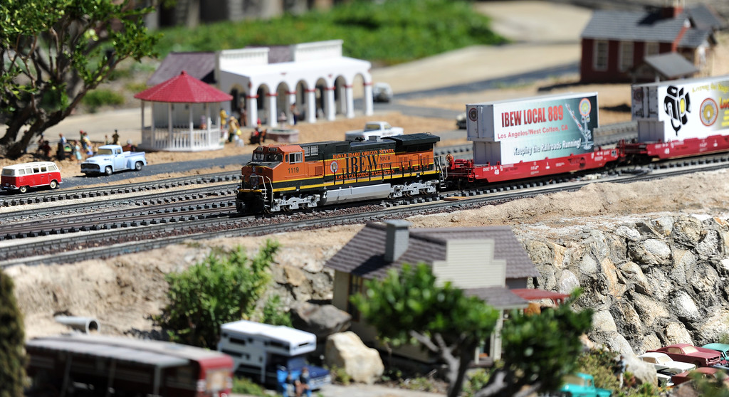 . Garden Railroad during the 91st Annual L.A. County Fair in Pomona, Calif. on Thursday, Sept. 5, 2013.   (Photo by Keith Birmingham/Pasadena Star-News)