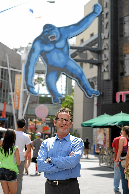 . Universal Studios President and CEO Larry Kurzweil July 2, 2013.  CityWalk is celebrating its 20th anniversary.(Andy Holzman/Los Angeles Daily News)