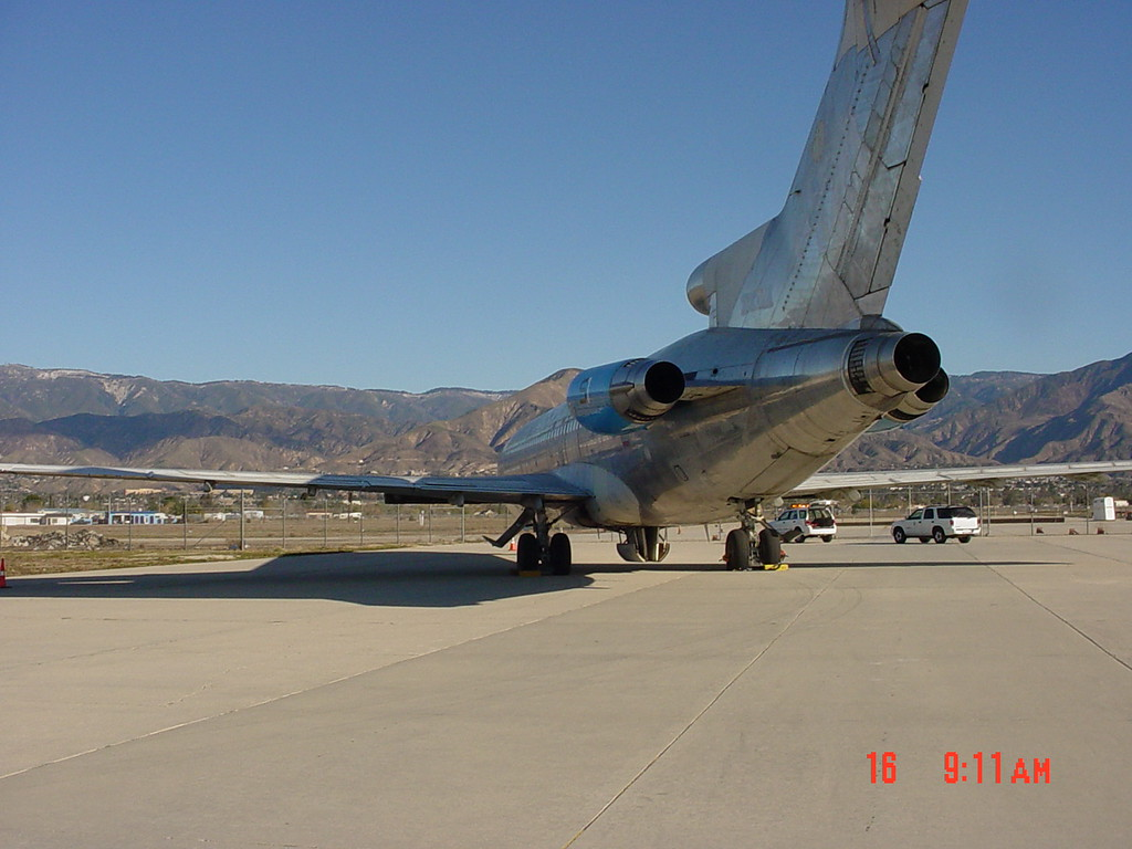 . 1973 Boeing 727 jet belonging to Scot Spencer\'s SBD Aircraft Services, Inc. that will be auctioned off by the Tax Collector\'s Office at end of May. Courtesy photo.