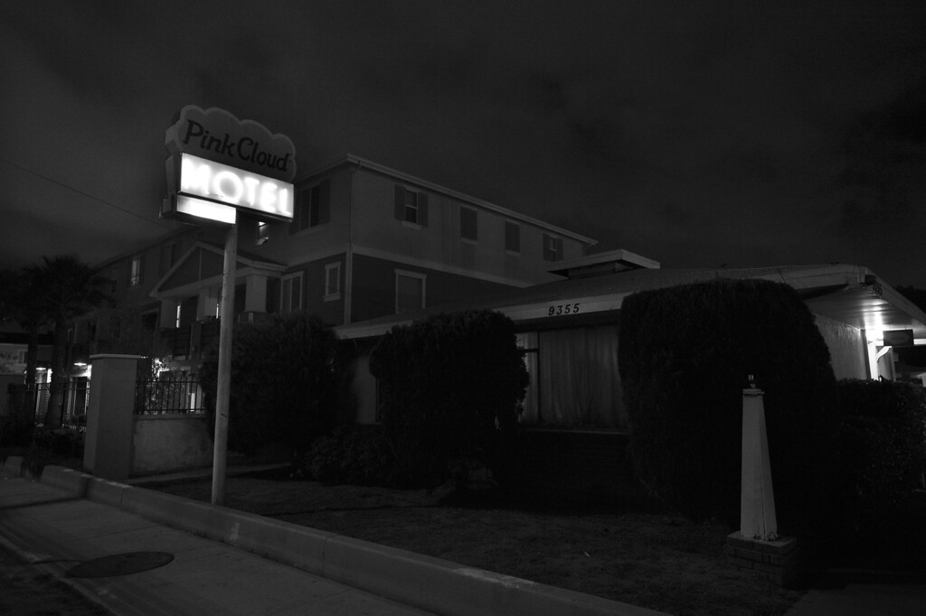 . The Pink Cloud Motel on Sepulveda Blvd. is on a long list of motels that the LAPD has received complaints from neighbors about possible prostitution activity. North Hills, CA. 3/27/2014(Photo by John McCoy / Los Angeles Daily News)